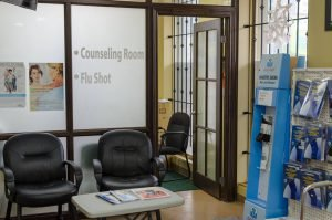 Lopresti Pharmacy-counselling room